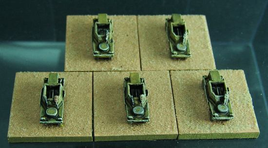 RAM V-1 scout cars