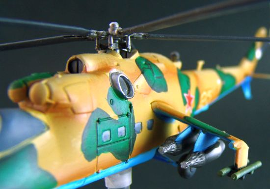 Mi-24 Hind Helicopter
