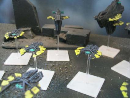 Relthoza fleet as painted by Blue Table