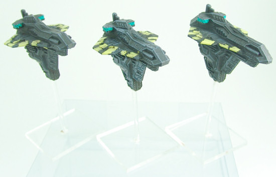 Relthoza Cruisers on flight stands
