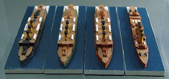 Russian Imperial Fleet ships