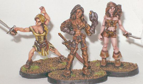 Pirate ladies completed