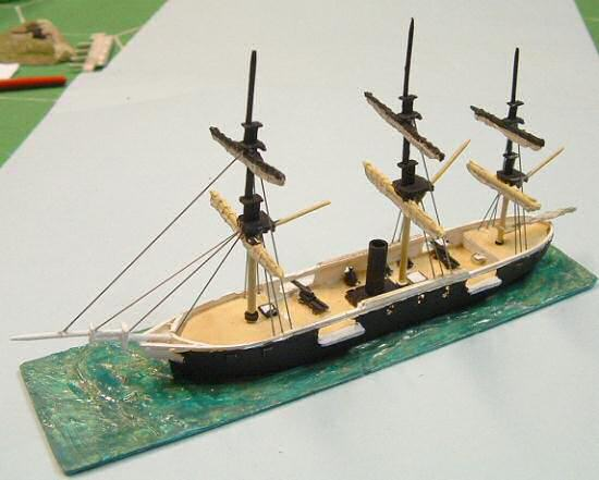 Port broadside
