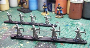 Figures ready for painting