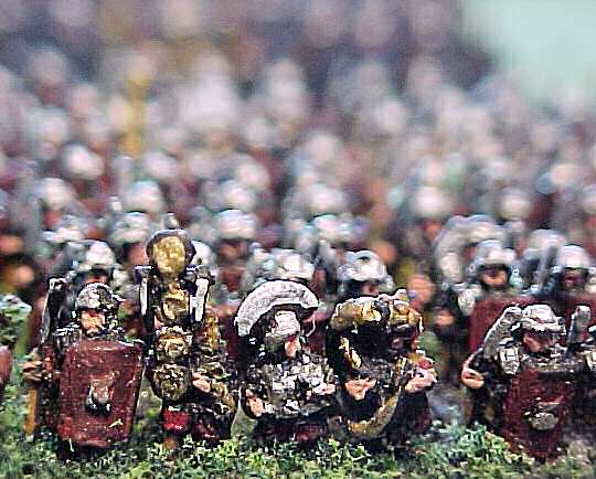Romans in 6mm scale