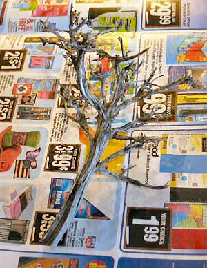 The bare tree armature