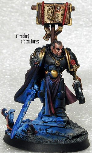 Inquisitor figure as painted by Prophet Miniatures