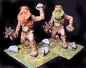 Rock Giants painted by Bwana for TMP