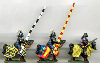 15mm knights, as painted by PhilGreg Painters (Collector Quality)