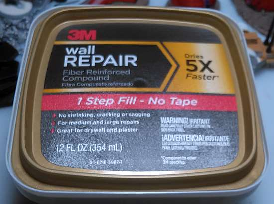 3M Wall Repair Compound