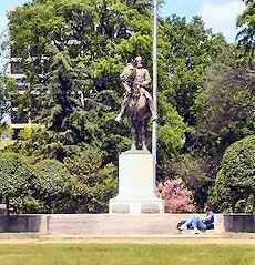 Statue of Nathan Bedford Forrest