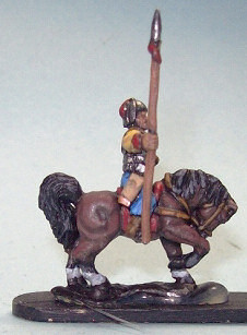 Tibetan cavalry - finished