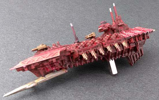 Painted Chaos ship