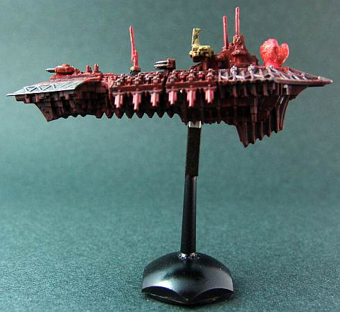 Chaos ship with fist