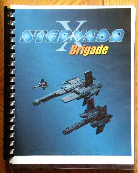 Starmada X: Brigade - comb bound with laminated covers