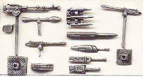 Weapons set