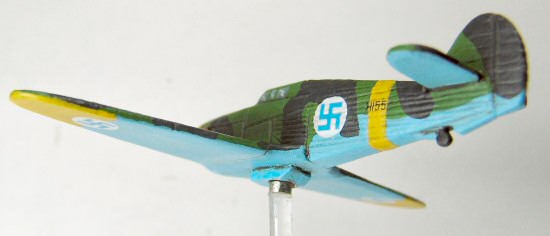 Hurricane on magnetic flight stand