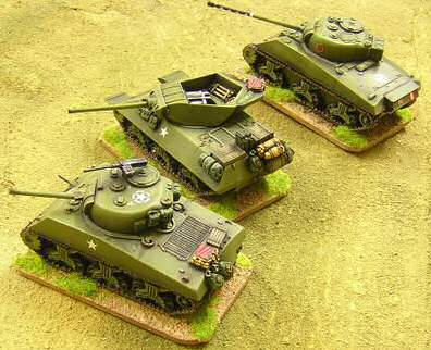 U.S. vehicles in 28mm scale, painted by Troop of Shewe