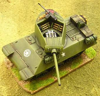 M10 in 28mm scale, painted by Troop of Shewe